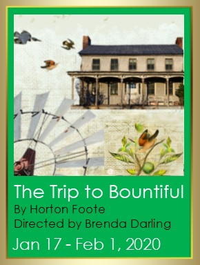 The Trip to Bountiful - Alumnae Theatre - poster