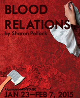 Blood Relations - Alumnae Theatre Company