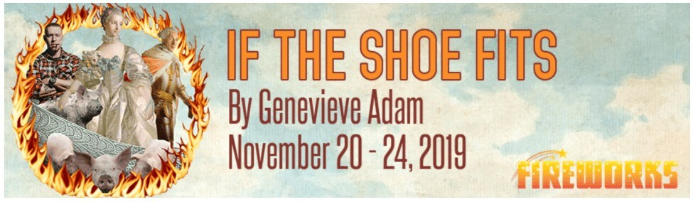 If the Shoe Fits - banner - Alumnae Theatre Company