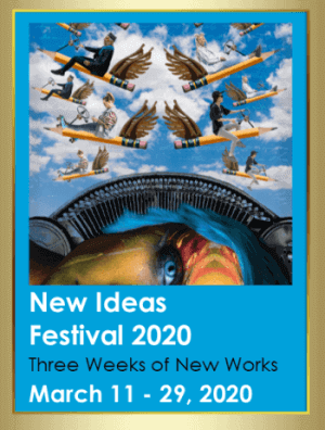Poster for Alumnae Theatre's 'New Ideas Festival 2020'